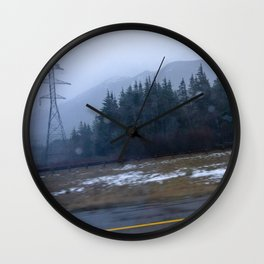 Winter's End Wall Clock