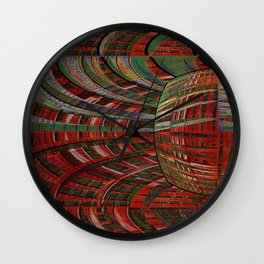 unexpected time warp Wall Clock