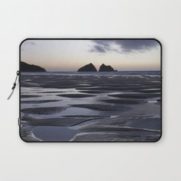 Gull Rock, Holywell Bay, Cornwall, England, United Kingdom Laptop Sleeve