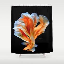 Flower Leaves Shower Curtain