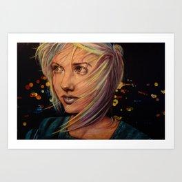 Wind Speaks While the City Sleeps (VIDEO IN DESCRIPTION!) Art Print