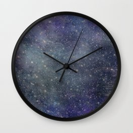 Starlight Indigo Wall Clock