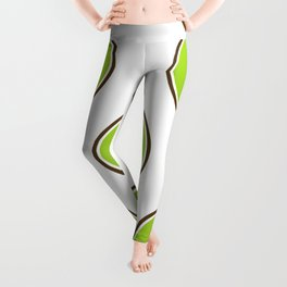 Kiwi summer fruit Leggings