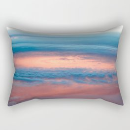 Cyclone in the clouds Rectangular Pillow