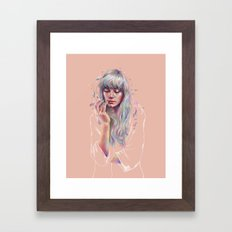 Faded Framed Art Print