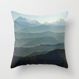 Hima - Layers Throw Pillow