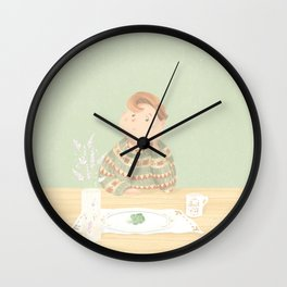 Just eat ! Wall Clock