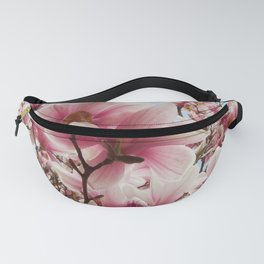 magnolia and blue sky Fanny Pack