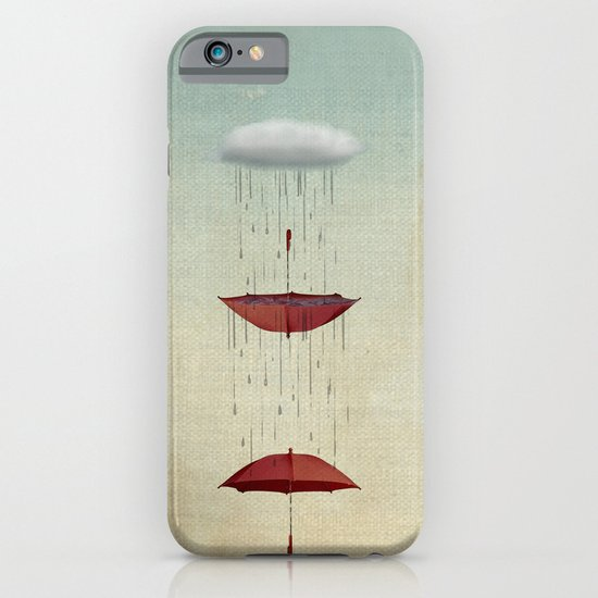 the umbrella runneth over and over iPhone & iPod Case