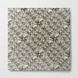 Nacreous Knit, 2310f Metal Print