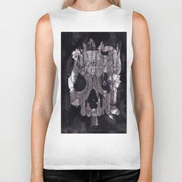Metal Skull Biker Tank