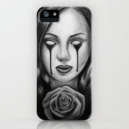 Bloody Rose iPhone Case