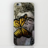 james franco iPhone & iPod Skins featuring Dave Franco by Christelle Walker