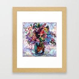 Little Bouquet Framed Art Print