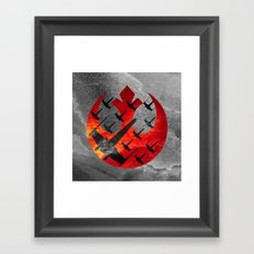 Star Wars Wraith Squadron in the Clouds Framed Art Print