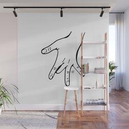 One finger Wall Mural