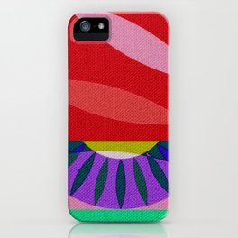 My Psychedelic God Maia iPhone Case