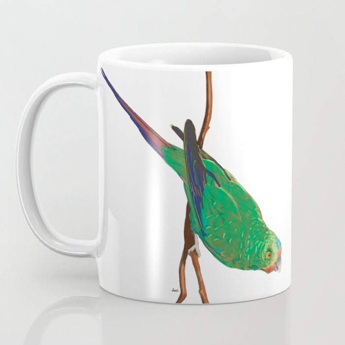 Swift Green Parrot Coffee Mug
