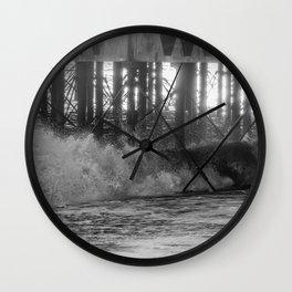 Waves. Wall Clock