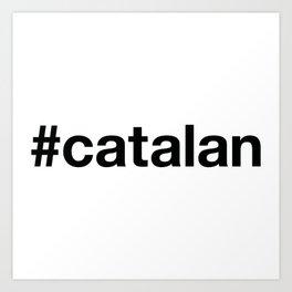 CATALAN Art Print