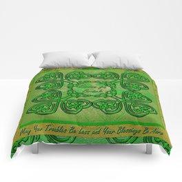 Celtic Irish Clover Duvet Comforters