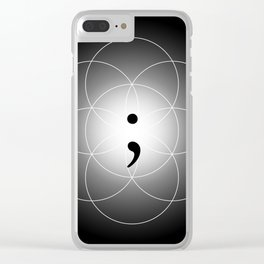 The Seed of - Life goes on Clear iPhone Case