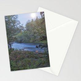 Moonlit River Stationery Cards