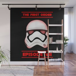 The First Order - Stormtrooper - Episode VII Wall Mural