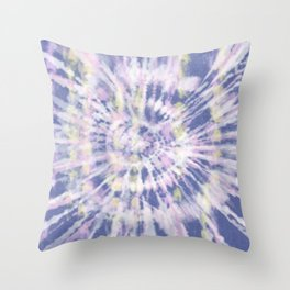 Indigo Tie-Dye Throw Pillow