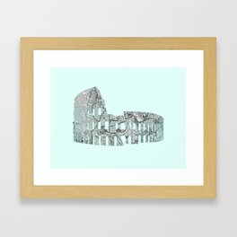 Roman Colosseum Framed Art Print