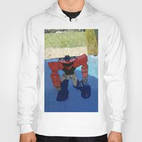 optimus prime Hoodies featuring Optimus by Tara Michele