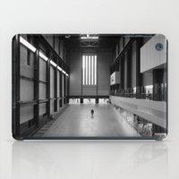 kris tate iPad Cases featuring Tate Modern by Evan Morris Cohen