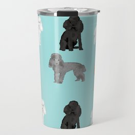 Toy Poodles mixed coat colors dog breed gifts pet portraits must haves poodles Travel Mug