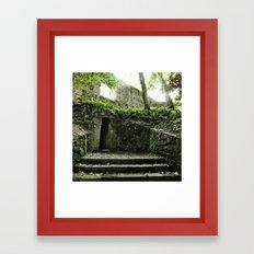 Temple oF dOOm Framed Art Print