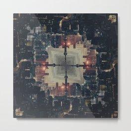 Cyberpunk/ Metal Print