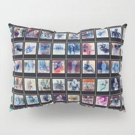 128 Sexy Polaroids in Negative Pillow Sham