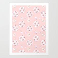ysabel (rose) Art Print