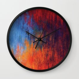 Hell Flame Wall Clock
