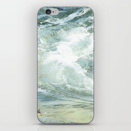 Cushion me soft, rock me billowy drowse, Dash me with amorous wet. iPhone Skin