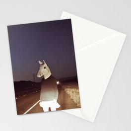 Horse Girl Stationery Cards