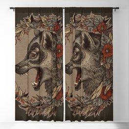 A Little Wolf Moon Blackout Curtain