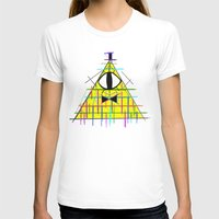 bill cipher T-shirts featuring CIPHER by BMAN0212