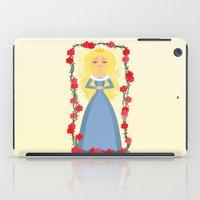 sleeping beauty iPad Cases featuring Sleeping Beauty by Sara Showalter