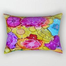 The Jessica - Flowers Rectangular Pillow