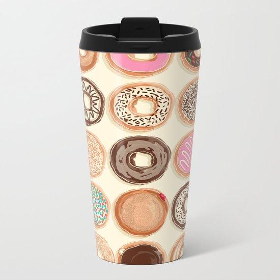 Doughnuts Metal Travel Mug