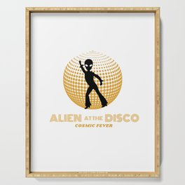Alien at the Disco Serving Tray