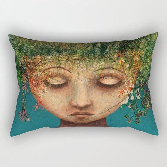 Quietly Wild Rectangular Pillow
