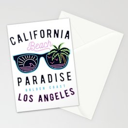 CALIFORNIA--Beach Stationery Cards