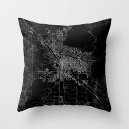 tucson map Throw Pillow