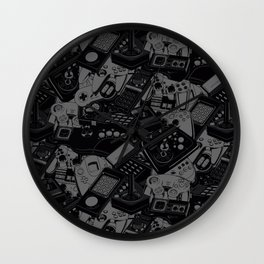 Retrogaming Design Wall Clock